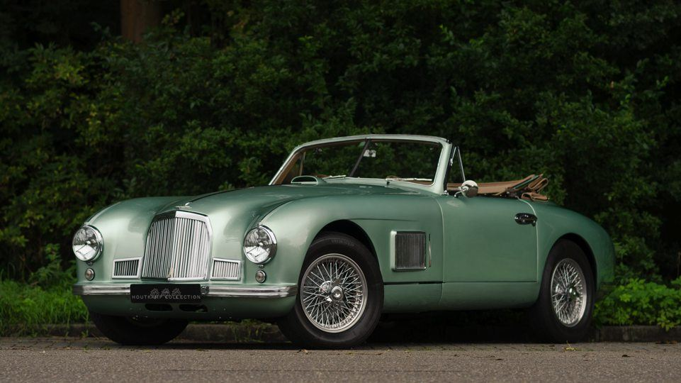 aston martin db2 drophead coupe 1st. sanction - the houtkamp collection