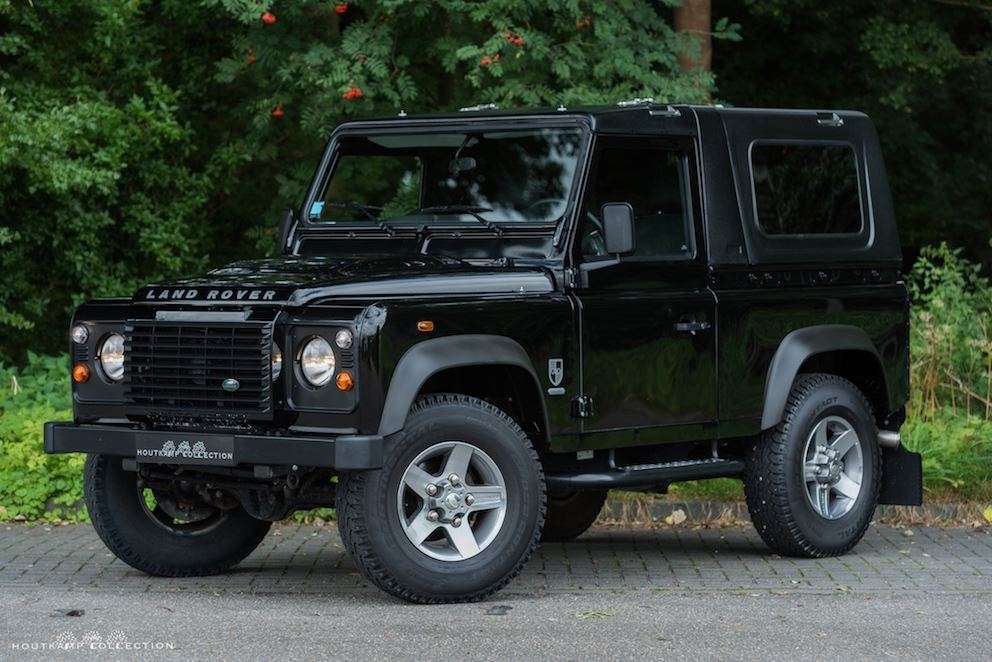 Land Rover Defender Convertible Eden Park Limited Edition